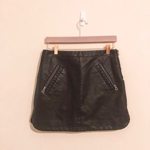 Urban Outfitters Leather Skirt (M)